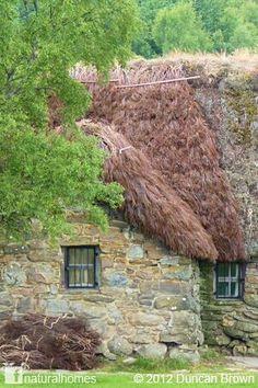 Scottish mountain cottage.