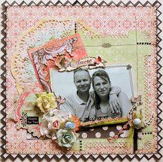 Amore **My Creative Sketches** - Scrapbook.com - #scrapbooking #layouts #creativeimaginations #rangerink #tonicstudios