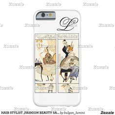 HAIR STYLIST ,FASHION BEAUTY SALON MAKE UP ARTIST WHITE BARELY THERE iPhone 6 CASE