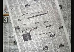 Incrível anúncio de jornal 3D oculta uma cozinha inteira dentro dos classificados. - Quantas Ideias Cabem numa Ideia? Criatividade, inovação, design, life & style, sustentabilidade.