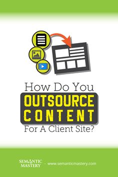 How Do You Outsource Content For A Client Site? One Of The Common Mistakes Among #SEO Is That They ......via http://semanticmastery.com/how-do-you-outsource-content-for-a-client-site/ . This is a question from an attendee that asked at one of our Free weekly Hump Day Hangouts here http://semanticmastery.com/humpday.