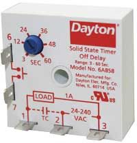 How To Wire Off Delay Timer Timer Relay Home Electrical Wiring