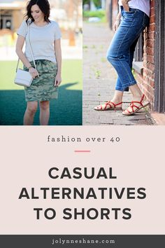 Here are some chic alternatives to shorts for women over 40!