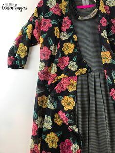 LuLaRoe Lauren Burgess VIP Boutique has members. Welcome to Lauren's Lula Shopping Group! Lularoe Lindsay Kimono, Lularoe Amelia Dress, Lularoe Clothes, We Wear, How To Wear, Lula Roe Outfits, Material Girls, Layered Look, Flat Lay
