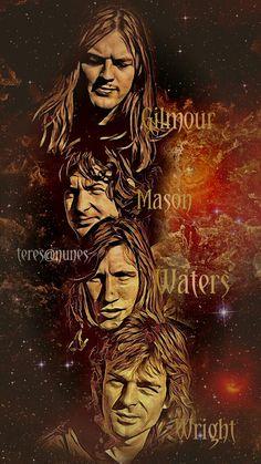 Pink Floyd art by Teresa Nunes