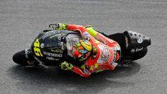 Rossi still slow