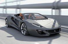 Ferrari Concept. It looks like a Lamborghini concept tho Para saber más sobre los coches no olvides visitar marcasdecoches.org