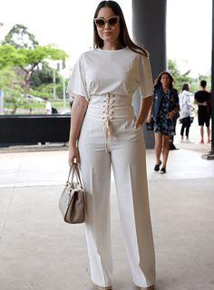 Ideas Fashion Nova Dress White For 2019 White Fashion, Look Fashion, Fashion Outfits, Womens Fashion, Fashion Design, Fashion Trends, Dress Fashion, Fashion Ideas, White Outfits