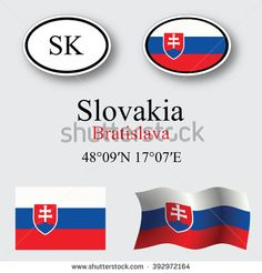 Ilustración de stock sobre Slovakia Icons Set Against Gray Background 392972164 Gray Background, Icon Set, Abstract Art, Illustration Art, Royalty Free Stock Photos, Pictures, Image, Photos, Grimm
