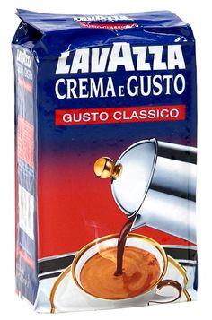 Cafea italiana Lavazza Crema e Gusto Personalized Items, Shopping, Espresso, Italia, Alcohol, Espresso Coffee, Espresso Drinks