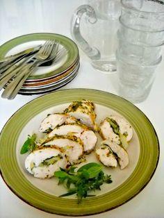 Chicken breasts with herbs and lemon or Petti di pollo alle erbe e limoni
