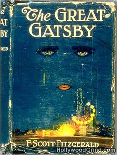"Happy Birthday to F. Scott Fitzgerald, born on this day in The cover art for his famous novel ""The Great Gatsby"" was complete before the book itself. Fitzgerald loved it so much he decided to write it into the novel. I Love Books, Great Books, Books To Read, My Books, The Great Gatsby Book, Amazing Books, It's Amazing, Reading Lists, Book Lists"