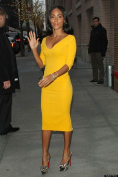 Yellow trend - Jada Pinkett-Smith