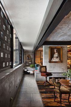<p>Hotel Carlota in Mexico City has been envisioned by a local studio JSa Arquitectura. The sleek space is located in a building dating back to 1970s, featuring an exquisite courtyard that is now home