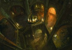 View an image titled 'Environment Art' in our The Witcher Assassins of Kings art gallery featuring official character designs, concept art, and promo pictures. High Fantasy, Fantasy Rpg, Fantasy World, Environment Concept Art, Environment Design, Witcher 2, King Picture, King Art, Fantasy Places