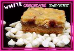 WHITE CHOCOLATE RASPBERRY BARS-ADAPTED FROM NESTLE! Ingredients 1/2 cup (1 stick) butter 2 cups (12-oz. pkg.) NESTLÉ® TOLL HOUSE® Premier White Morsels, divided 2 large eggs 1/2 cup granulated sugar 1 cup all-purpose flour 1/2 teaspoon salt 1/2 teaspoon almond extract 1/2 cup seedless raspberry jaM Directions PREHEAT oven to 325° F. LINE 9 INCH …