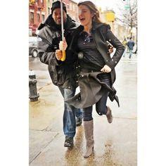 #wbw @Blake Lively donning her vintage #erinkleinberg hoodie #thateklife