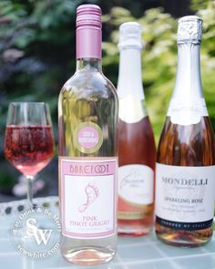 A Rosé wine Bank Holiday, rose wine, barefoot wine, pink wine