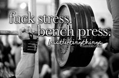 Bench press gym