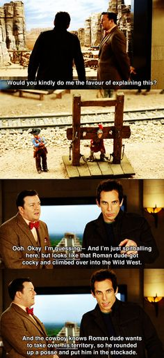 Would you kindly do me the favour? ~ Night at the Museum (2006) ~ Movie Quotes #amusementphile
