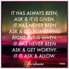 Here is ALL Abraham-Hicks Torrents http://pages.videotron.com/abeallow/index.htm