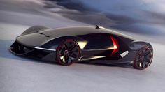 Ferrari Manifesto, un concept futuriste made in France - http://www.leshommesmodernes.com/ferrari-manifesto/