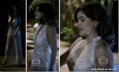 Últimos looks em dezembro de Aline e Edith na novela Amor à Vida