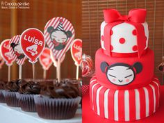 My girl's birthday. Pucca themed party.