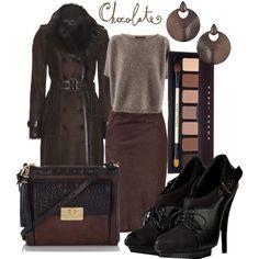 Women's Fall Fashion 2013, Chocolate Coco