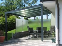 Carport & Überdachung - Creativ Zaun Design GmbH Carport Modern, Pergola, Basement Laundry, Carports, Outdoor Structures, Outdoor Decor, Changing Room, Home Decor, Garage