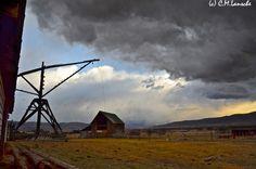 Spring Storm.  Summit County, Utah.