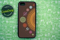 Universe and Planets iPhone 5 case via Etsy