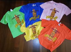 Hawaiian Kukui Brand children's t-shirts on sale at the Company Store
