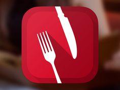 Dribbble - nappkin iOS7 App Icon by Christian Pfeiffer
