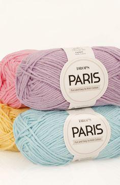 Color chart for DROPS Paris ~ DROPS Design