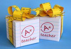 Free teacher appreciation printable! Perfect for little treats for teachers!