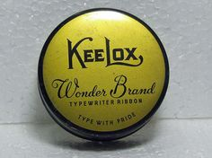Vintage KeeLox Wonder Brand Type With Pride Typewriter by AGOLFR, $10.00