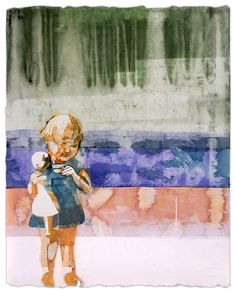 Maurice Christo van Meijel: Zus (2005) inkt op papier, 97 x 77 cm. (particuliere collectie)