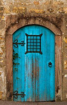 Old Blue Door, Scotland