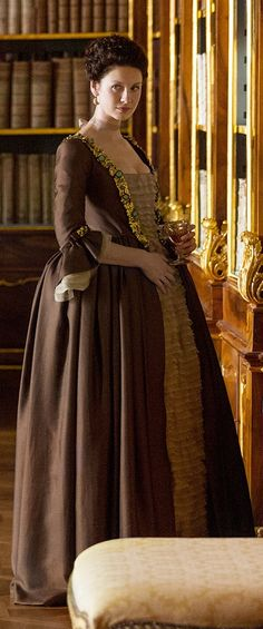 "Claire Fraser (Caitriona Balfe) in Season Two of 'Outlander' on Starz, Episode 204, ""La Dame Blanche"""