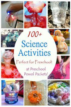 100+ Science Activities for Preschoolers