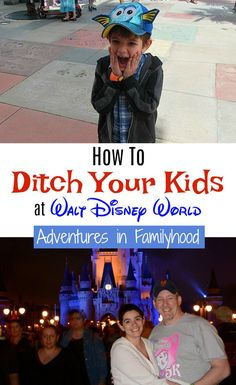 Disney isn't just for kids. Here are 3 ways to ditch the kiddos and get some time for just the adults to enjoy some Disney magic. Disney World Tips And Tricks, Disney Tips, Disney Magic, Disney Dream, Walt Disney World Vacations, Disney Parks, Disney Travel, Family Vacations, Family Travel