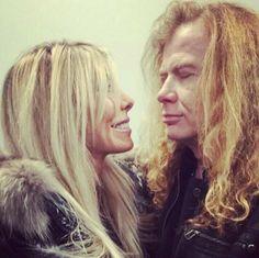 Dave Mustaine & Pamela Mustaine
