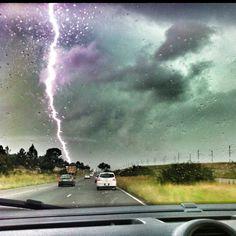 Pretoria thunderstorm , South Africa
