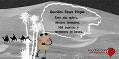 Carta de #donsaquito a los Reyes Magos.