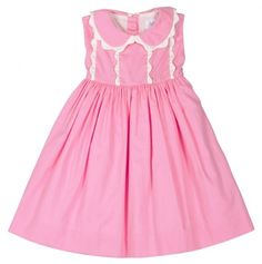 Pretty In Pink Toddler Dress.