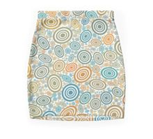 You've got to be a retro lover to love this Mini Skirt. Done in orange and blue circles that make it lively, vibrant and very modern. Blue Orange, Floral Tie, Circles, Dress Skirt, Mini Skirts, Vibrant, Retro, Modern, How To Make