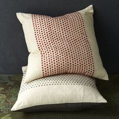 Dot Pillow Cover #WestElm