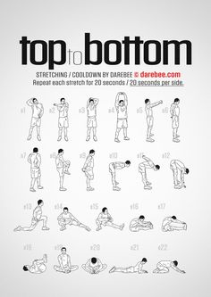 Top to Bottom workout.