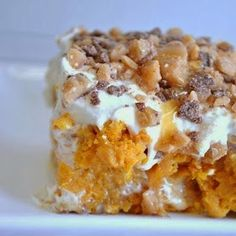 Estelle's: PUMPKIN BETTER THAN SEX CAKE...MAKING THE CANDY HURRICANE